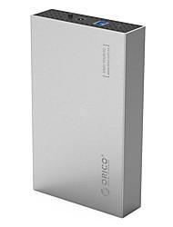 Orico 3518 s3 3.5 дюймовый sata3.0 настольный жесткий диск коробка для жесткого диска см мобильный жесткий диск коробки случайный цвет