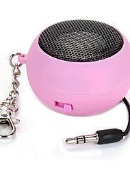 Mini DK-601 Capsule Speaker Rechargeable for MP3 Cellphone Mobile Pink