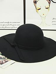 Feminino Chapéu de sol Feminino Vintage / Casual Todas as Estações Algodão