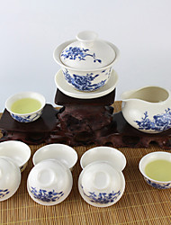1PC Slap-Up Atmospheric Family Entertainment Ceramics Tea set Eight-Piece Cup Teapot