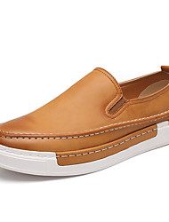 Men's Loafers & Slip-Ons Amir New Style/ Comfort Leather Casual / Simple Life/ Slip-on Black / Walking