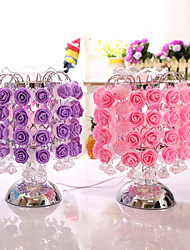 Christmas Valentines Rose Fragrance Lamp Ornaments Home Furnishing Touch Induction Lamp Decoration Gifts