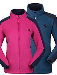 Unissexo Jaquetas Softshell Acampar e Caminhar Respirável Térmico/Quente Vestível Redutor de Suor Primavera Outono InvernoVermelho Rosa