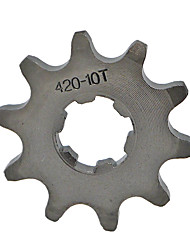 420-10T Tooth Front Engine Sprocket For Mini Motor Quad Dirt Bike 17MM