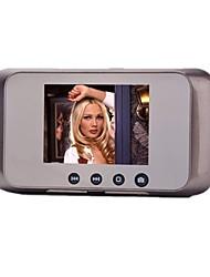 Suporte para câmera de vídeo nenhuma radiação de baixo consumo de energia impermeável anti-roubo visual campainha