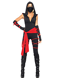 Costumes Movie & TV Theme Costumes Halloween Black Patchwork Terylene Leotard/Onesie / More Accessories