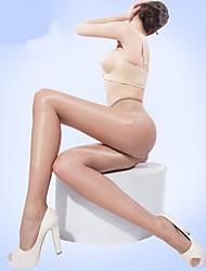 BONAS® Femme Couleur unie Moyen Legging-@7006