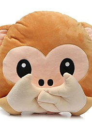 Lovely Plush Toys Monkey Pillow Stuffed Toy Office Home Sofa Decoration Gift