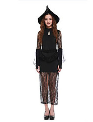 Women's Lace Slim Witch Cosplay Fancy Costume Dress