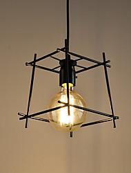 E26/E27 Pendant Light ,  Retro  for Designers MetalLiving Room / Bedroom / Dining Room / Kitchen / Study Room/Office /