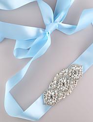 Rhinestone pearl bridal evening gown kidney
