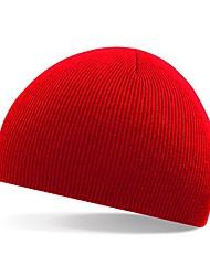 Unisex Knitwear / Rayon Ski HatCute / Casual Spring / Fall / Winter