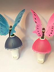 bunte Schmetterling Nachtlicht Neuheit Lichtsteuerung Induktion Stecker Schmetterling Fototherapielampe