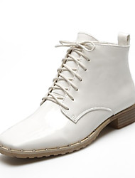 Women's Boots Fall / Winter Riding Boots / Fashion Boots / Bootie /Comfort / Combat Boots / FlatsPatent Leather /