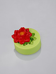 Fondant flowers mold used fondant cake fimo clay candy mold tools kitchen accessories Color Random
