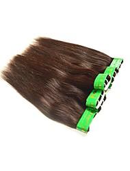 Человека ткет Волосы Индийские волосы Прямые 12 месяцев 1 шт. волосы ткет