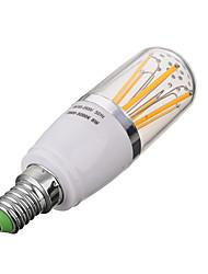 6 E14 Ampoules à Filament LED T 6 COB 600 lm Blanc Chaud / Blanc Froid Décorative AC 85-265 V 1 pièce