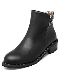 Women's Boots Fall / Winter Riding Boots / Fashion Boots / Bootie / Basic Pump / Comfort / Pointed ToePatent Leather /