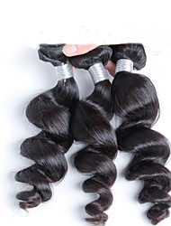 Indian Virgin Hair Loose Wave 7A Unprocessed Virgin Human Hair 3 Bundles Cheap Human Hair Loose Wave Virgin extension