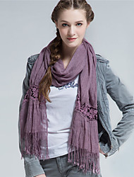Alyzee   Women Acrylic ScarfFashionable Jewelry-B4020