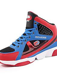 Femme-Décontracté Sport-Noir Jaune RougeConfort-Chaussures d'Athlétisme-Tulle Microfibre