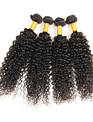 Peruvian Virgin Remy Curly Hair Weave Bundles 100% Unprocessed Human Hair Extensions Nature Color 4pcs/lot 200g