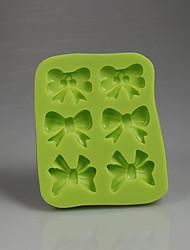 Arcos verdes forma chocolate dulces molde de fondant de silicona 3d decoración herramientas de hornear accesorios de cocina color al azar