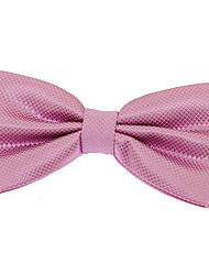 Men Jacquard Polyester Silk Bow Tie Adjustable