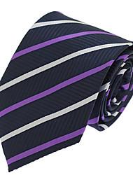 Men Wedding Party Business Necktie Polyester Silk Tie