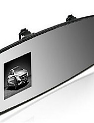 Screen Size 2.4-Inch Rear-View Mirror Drive Recorder Angle 140