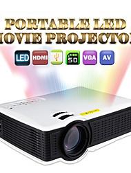 Owlenz® SD50 standard LCD Heimkino-Projektor WVGA (800x480) 1000 Lumens LED 4:3/16:9