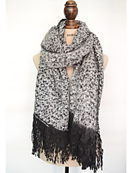 Unisex Faux Fur ScarfCasual RectanglePolka Dot