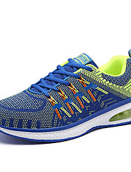 Men's Sneakers Spring / Fall / Comfort Outdoor Sport / Athletic / Casual Lace-up Blue / Gray / Orange Tennis / Walking