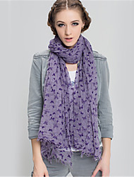 Alyzee  Women Wool Blend ScarfFashionable Jewelry-B5053