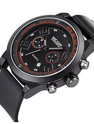 MEGIR® Men's Silicone Band Analog Quartz Calendar Luminous Sports Watch Gift (Include Package)