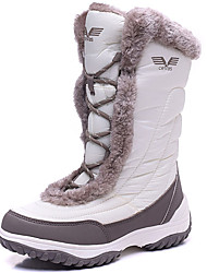 Women's Boots Spring / Fall/Winter Snow Boots Pigskin / Spandex Fabric Outdoor Black/Pink/White Snow Boots
