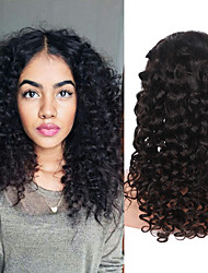 Hot Selling Deep Wave Lace Front Human Hair Wigs For Women Brazilian Free Part Lace Front Wig With Baby Hair