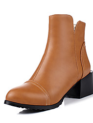 Women's Boots Fall / Winter Riding Boots / Fashion Boots / Comfort / Combat Boots / Pointed ToePatent Leather /