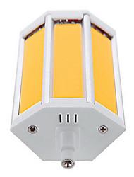 R7S 118mm COB 10W Warm White / Cool White 1000LM 220Beam Horizontal Plug Lights  Flood Light AC85-265V