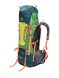 80 L Randonnée pack / Sac à Dos de Randonnée Camping & Randonnée / Escalade / Voyage Extérieur / Sport de détenteEtanche / Isolation