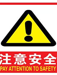 sinalização de segurança pvc sinais reflexivos e sinais luminosos sinais de alerta de eletricidade um pacote de três para comprar um