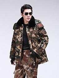 Wandern Softshell Jacken Herrn Atmungsaktiv / warm halten / Windundurchlässig / tragbar Winter Baumwolle TarnfarbenS / M / L / XL / XXL /