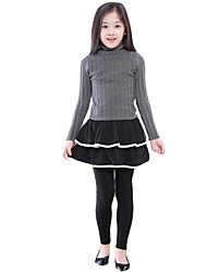 Girl's Casual/Daily Solid Dress / Skirt / Leggings,Others Spring / Fall Black