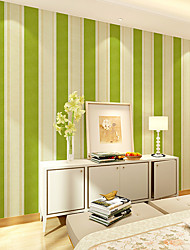0.45*10M Contemporary And Contracted Stripe Waterproof Renovation To Stick Wall Paper Adhesive From The Wallpaper