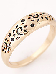 Women European Style Vintage Retro Fashion Leopard Band Ring