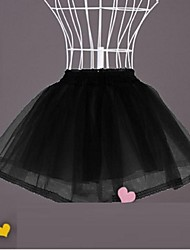 Slips Ball Gown Slip Short-Length 2 Polyester White / Black