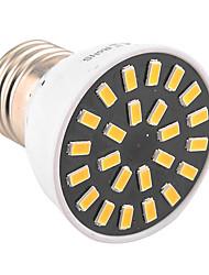 5W E26/E27 Spot LED MR16 24 SMD 5733 400-500 lm Blanc Chaud / Blanc Froid Décorative AC 100-240 / AC 110-130 V 1 pièce