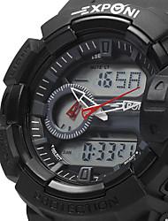 Мужской Спортивные часы / Армейские часы / Модные часы / Наручные часы КварцевыйLED / LCD / Календарь / Секундомер / Защита от влаги / С