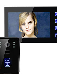 ENNIO SY816AID11  7 Inch HD Wireless Remote Unlocking Video Intercom Doorbell