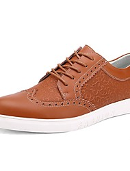 Westland's Men's Oxfords/Comfort Leather/Grass Pattern/Super Fashion Style/Casual Dress/Black
